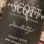 Allan Scott Marlborough Pinot Noir 2018
