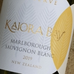 Kaiora Bay Reserve Marlborough Sauvignon Blanc 2019