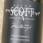Allan Scott Black Label Marlborough Chardonnay 2018