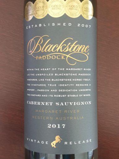 Blackstone Paddock Margaret River Cabernet Sauvignon 2017