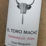 El Toro Macho Tempranillo Bobal 2018