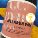 Brilliant A.C. Byrne & Co McLaren Vale Biodynamic Shiraz 2018