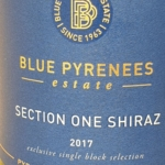 Blue Pyrenees Section One Shiraz 2017