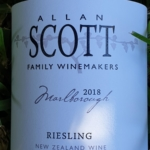 Allan Scott Marlborough Riesling 2018