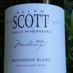 Allan Scott Marlborough Sauvignon Blanc 2019
