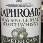 Laphroaig Quarter Cask Islay Scotch Whisky – 94 Points