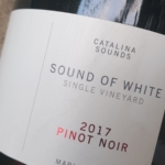 Catalina Sounds 'Sounds of White' Pinot Noir 2017