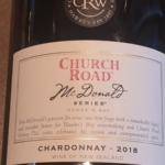 Church Road McDonald Series Chardonnay 2018