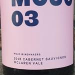 Mojo McLaren Vale Cabernet Sauvignon 2018