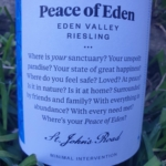 St John's Road Peace of Eden Riesling 2019