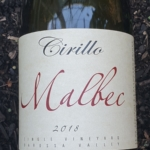 Cirillo Estate Barossa Valley Malbec 2018