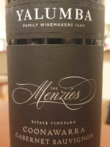 Yalumba The Menzies Cabernet Sauvignon 2015