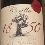 Cirillo Estate 1850 Ancestor Vine Grenache 2013