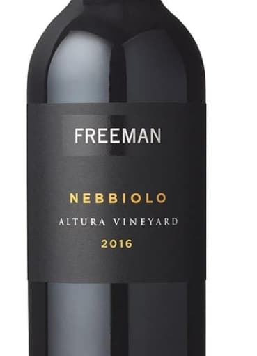 Freeman Vineyards Altura Vineyard Nebbiolo 2016