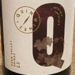 Quin Wines Eden Valley Shiraz 2018