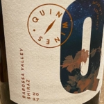 Quin Wines Barossa Valley Shiraz 2017