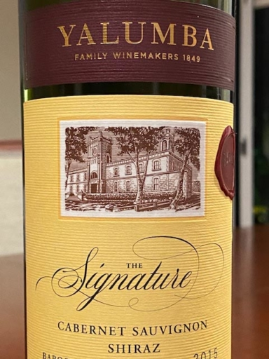 Yalumba The Signature Cabernet Shiraz 2015