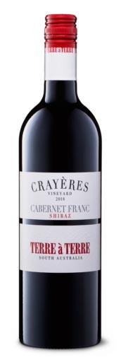 Terre a Terre Crayeres Vineyard Cabernet Franc Shiraz 2018