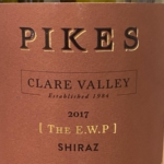 Pikes The E.W.P. Shiraz 2017