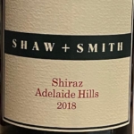 Shaw and Smith Shiraz 2018