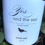 Yes, Said The Seal Bellarine Pinot Noir 2019