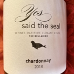Yes, Said The Seal Bellarine Chardonnay 2018