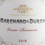 Marchand & Burch Vosne-Romanee 2018