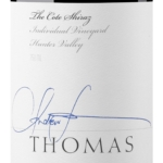 Thomas Wines The Cote Hunter Valley Shiraz 2018