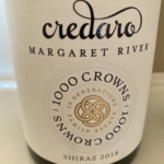 Credaro Margaret River 1000 Crowns Shiraz 2018