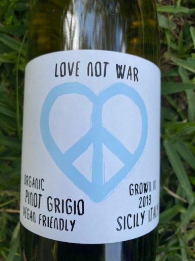 Love Not War Organic Pinot Grigio 2019