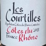 Les Courtilles Cotes du Rhone 2018