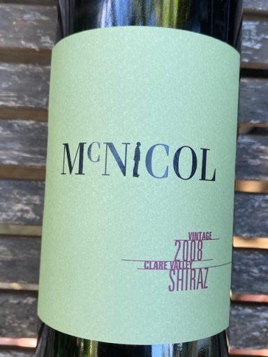 Mitchell McNichol Shiraz 2008