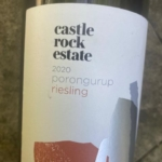 Castle Rock Porongurup Riesling 2020