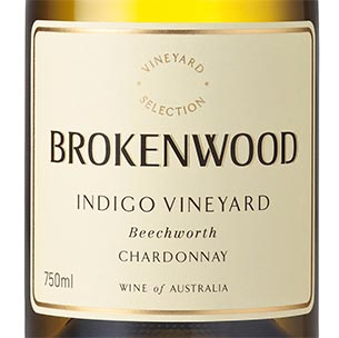 Brokenwood Wines Indigo Vineyard Beechworth Chardonnay 2019