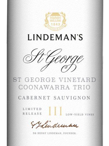 Lindeman's St George Cabernet Sauvignon 2018