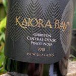 Kaiora Bay Gibbston Pinot Noir 2018