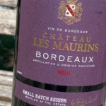 Chateau Les Maurins Small Batch Series Bordeaux 2018