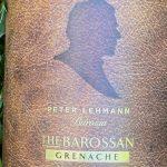 Peter Lehmann The Barossan Grenache 2017
