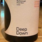Deep Down Marlborough Pinot Noir 2020
