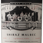Brand & Sons Night Owl Shiraz Malbec 2018