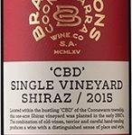 Brand & Sons CBD Single Vineyard Shiraz 2015