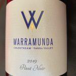 Warramunda Estate Yarra Valley Pinot Noir 2019