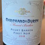 Marchand & Burch Mount Barrow Pinot Noir 2018