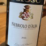 Gioso Nebbiolo d'Alba 2016