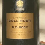 Bollinger RD 2007 – Another Stunning Vintage