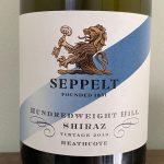 Seppelt Hundredweight Hill Shiraz 2019