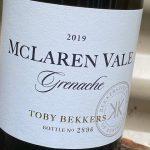 Bekkers Wine Grenache 2019