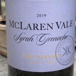 Bekkers Wine Syrah Grenache 2019