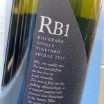 RockBare RB1 Barossa Valley Single Vineyard Shiraz 2017